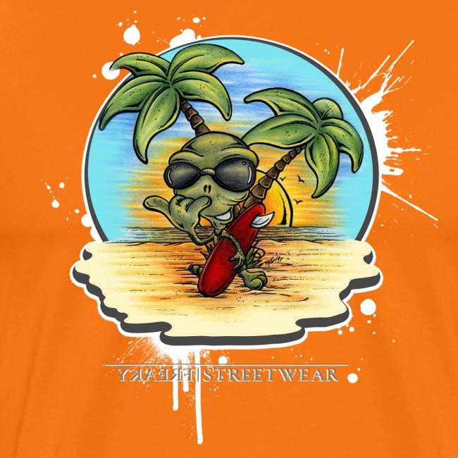 Let's have a surf back home!