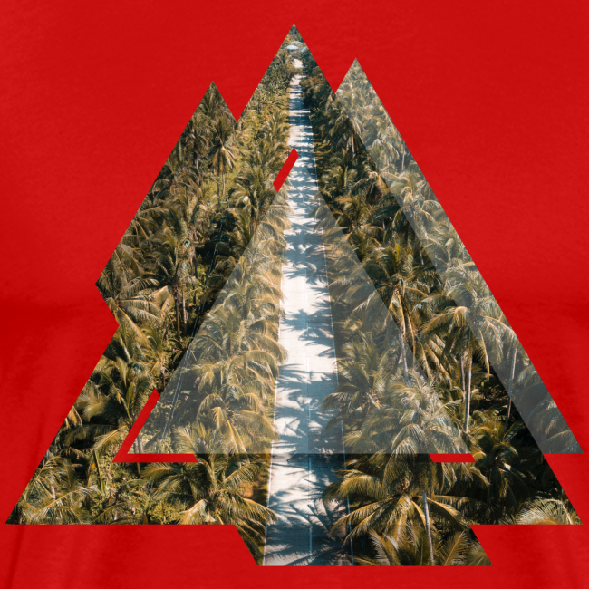 Triangle Tropical Palm Street