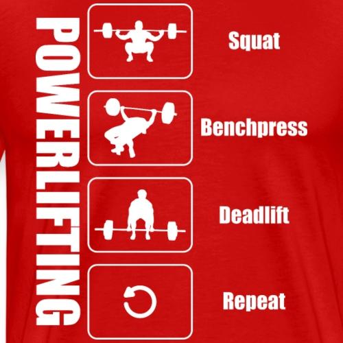 Powerlifter Lifestyle - Männer Premium T-Shirt