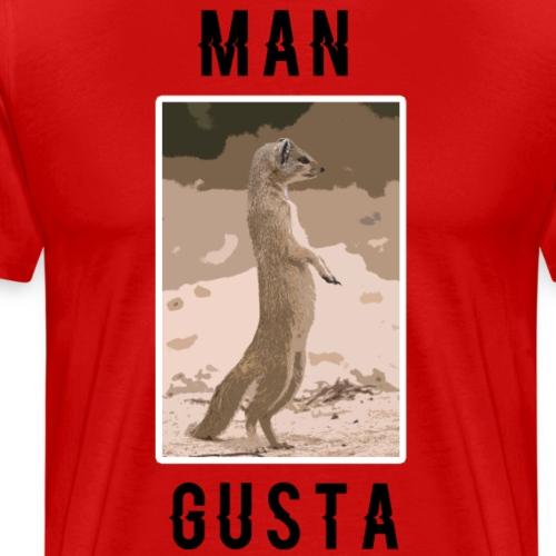 Man-Gusta - Men's Premium T-Shirt
