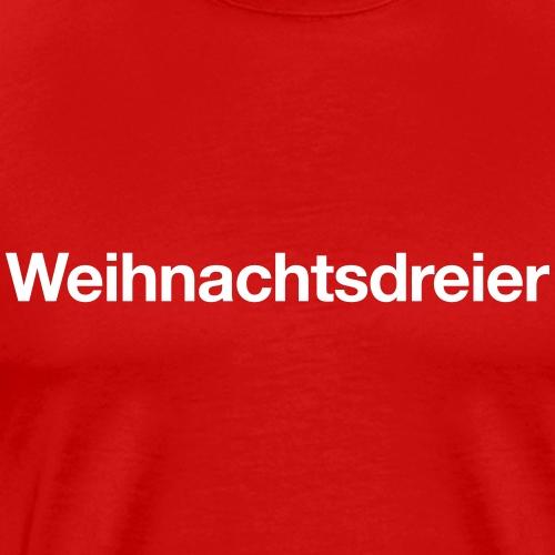 Weihnachtsdreier - Männer Premium T-Shirt
