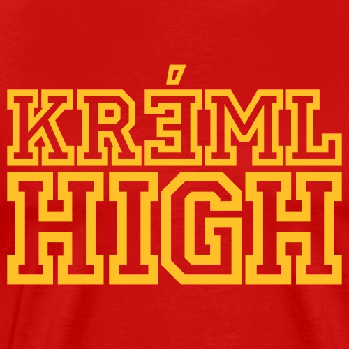 Kreml High - Premium-T-shirt herr