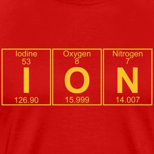 I-O-N (ion) - Full - Men's Premium T-Shirt