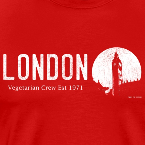 London Vegetarian Crew - Men's Premium T-Shirt