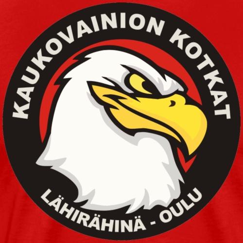 Kaukovainion Kotkat - Miesten premium t-paita