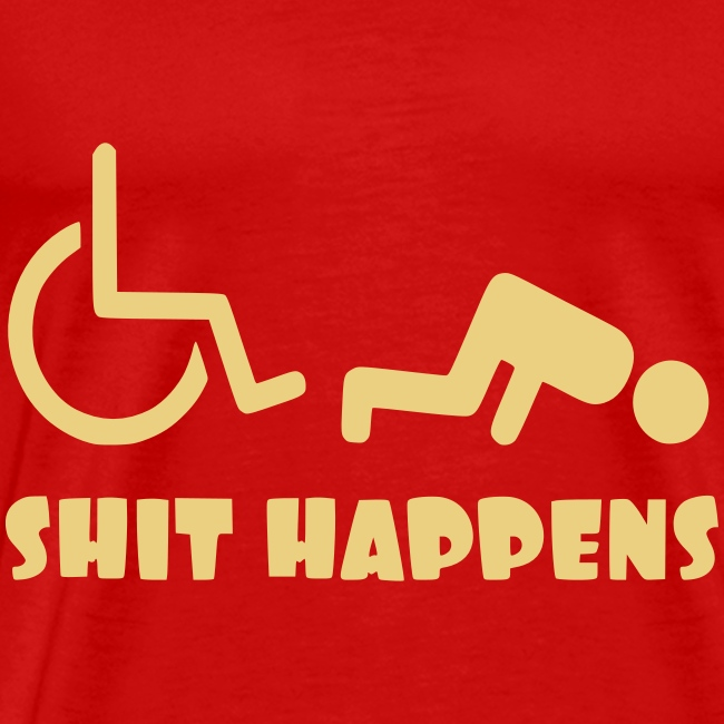 Het zit soms ook tegen in je rolstoel