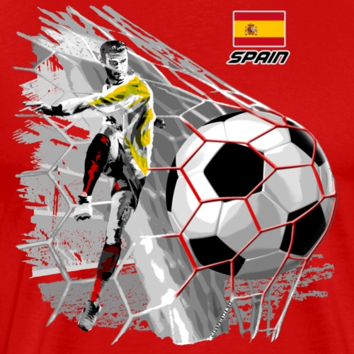 SPAIN FOOTBALL SOCCER PLAY T SHIRTS, GIFTS, etc.