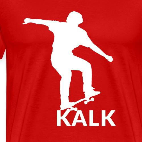 skate on kalk - Männer Premium T-Shirt