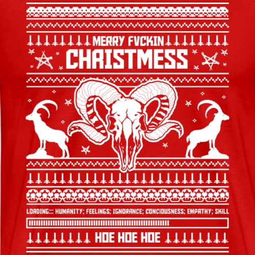 Merry Christmess Sweater - Winter Edition - Männer Premium T-Shirt