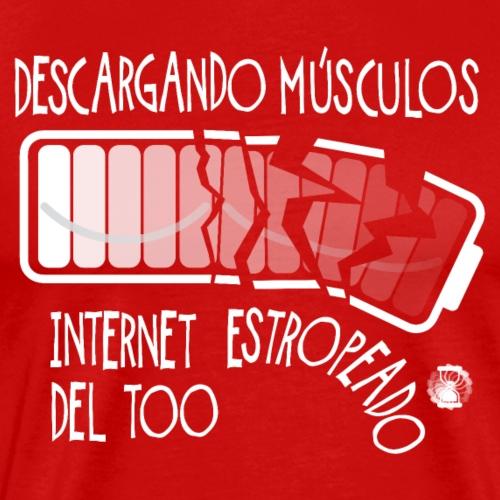 Internet Roto VESP Hombres - Camiseta premium hombre