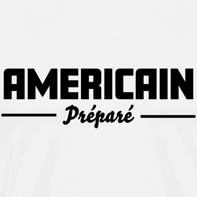 Americain préparé