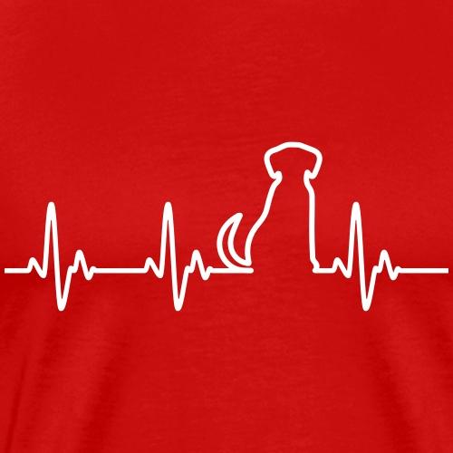 Hunde Herz - Männer Premium T-Shirt