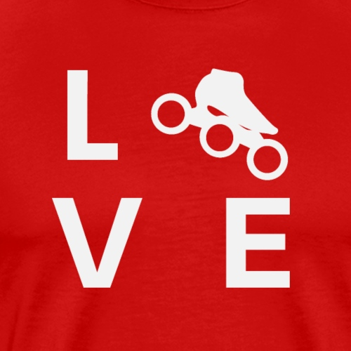 Speedskating Liebe - Männer Premium T-Shirt