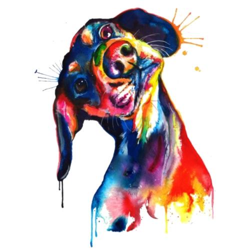 Perrito adorable - Camiseta premium hombre