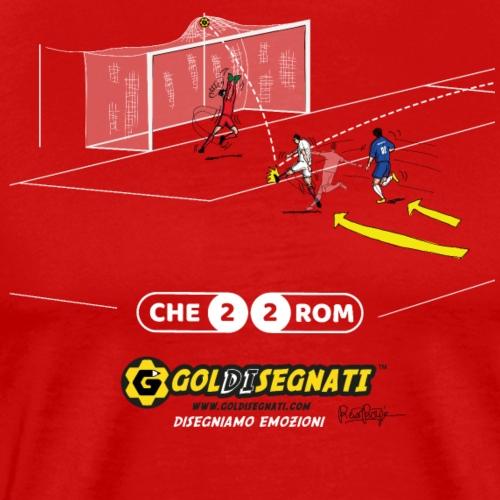 CHE-ROM 2-2 Il gol del bosniaco - Maglietta Premium da uomo