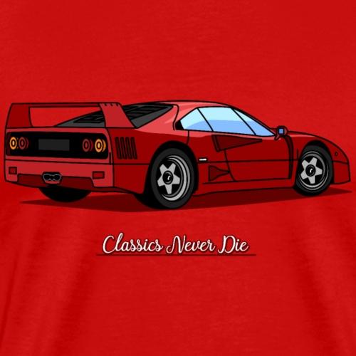 Classics Never Die - Maglietta Premium da uomo