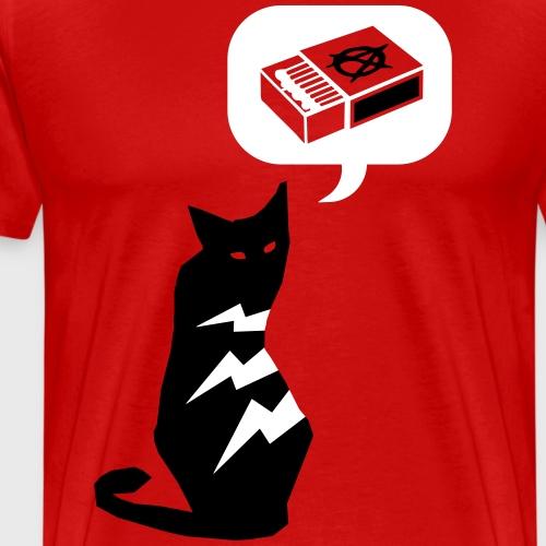 Anarchallumette - T-shirt Premium Homme