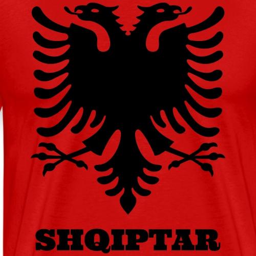 Shqiptar / Albanische Flagge / Albanien / Albaner - Männer Premium T-Shirt