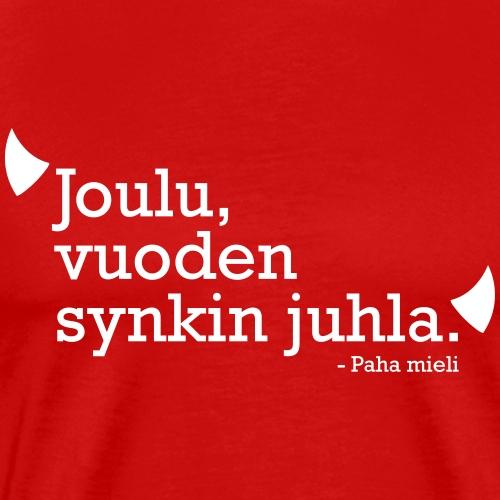 Joulu, vuoden synkin juhla - Miesten premium t-paita