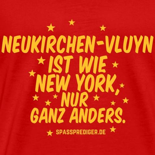 Neukirchen-Vluyn T Shirt Spruch wie New York - Männer Premium T-Shirt