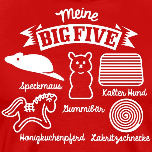 Big Five - Männer Premium T-Shirt