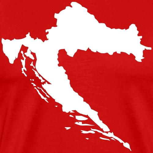 Kroatien - Männer Premium T-Shirt