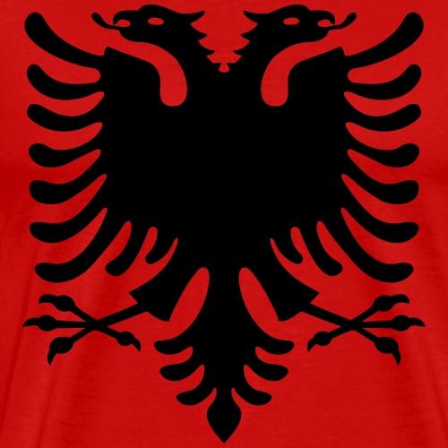 Albanische Flagge / Albanischer Adler / Shqiponja - Männer Premium T-Shirt