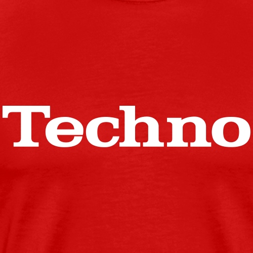 Classic techno - Men's Premium T-Shirt