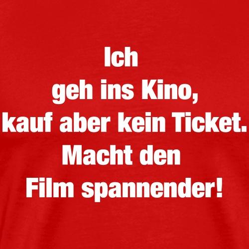 Kino (Spruch) - Männer Premium T-Shirt