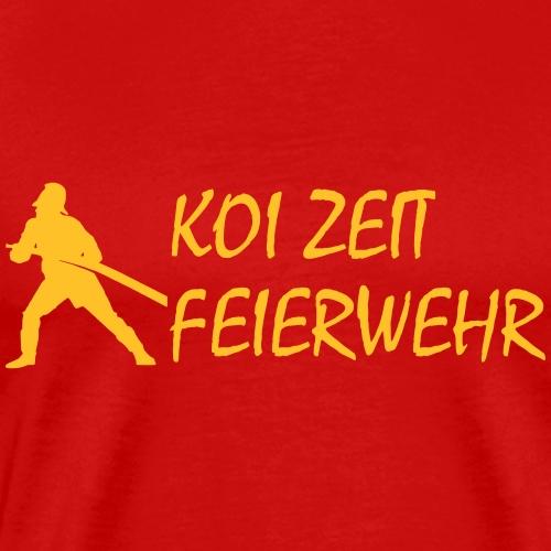 KoiZeit - Feuerwehr - Männer Premium T-Shirt
