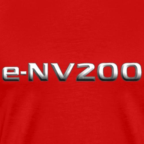 e-NV200 Metal Emblem - Men's Premium T-Shirt