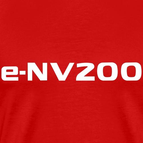 e-NV200 Solid (customisable) colour - Men's Premium T-Shirt