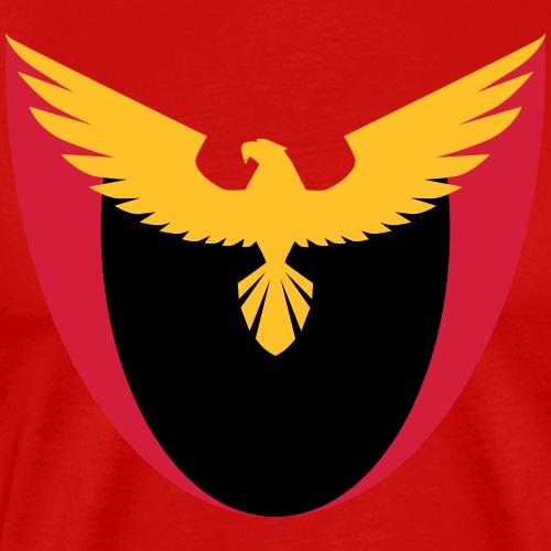 adler greifvogel - Männer Premium T-Shirt