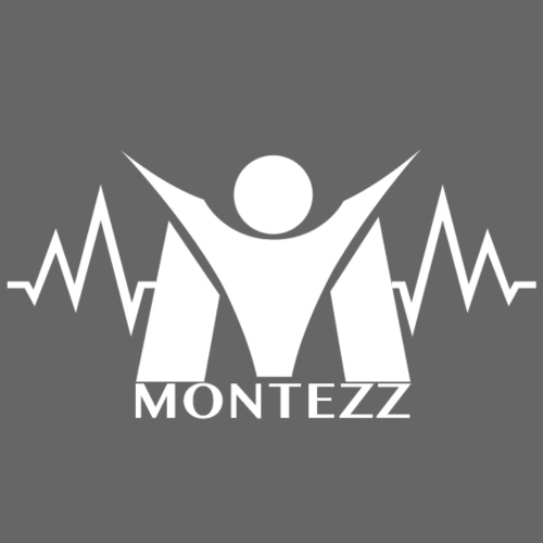 RM - Heart Beat Logo - White - Men's Premium T-Shirt