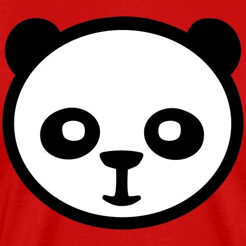 Panda, Giant Panda, Giant Panda, Bamboo Bear - Mannen Premium T-shirt