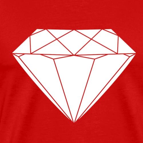 White Diamond - Männer Premium T-Shirt