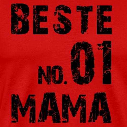 NO. 1 Besste Mama - Männer Premium T-Shirt