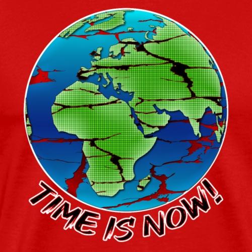 Umweltschutz - Time is now - Männer Premium T-Shirt