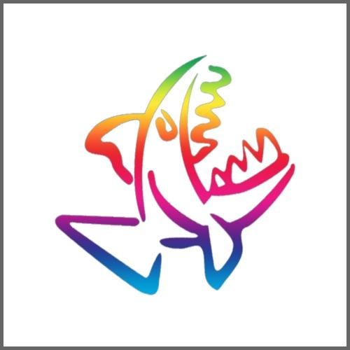 Piranha - Maglietta Premium da uomo