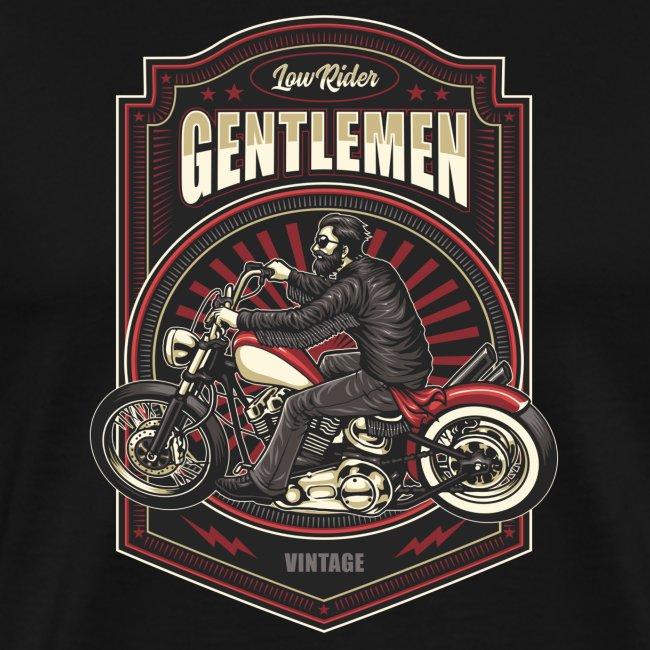Gentlemen Biker Vintage