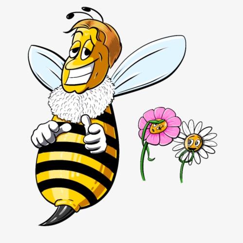 Bee spring Color - Camiseta premium hombre