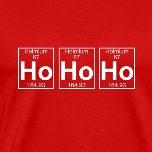 hohoho merry christmas - Mannen Premium T-shirt