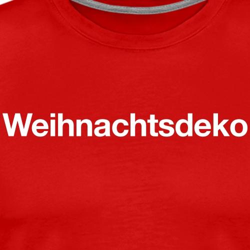 Weihnachtsdeko - Männer Premium T-Shirt
