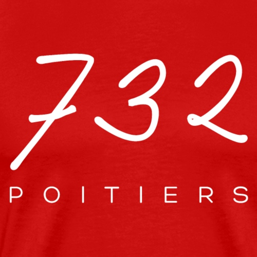 732 W png - T-shirt Premium Homme
