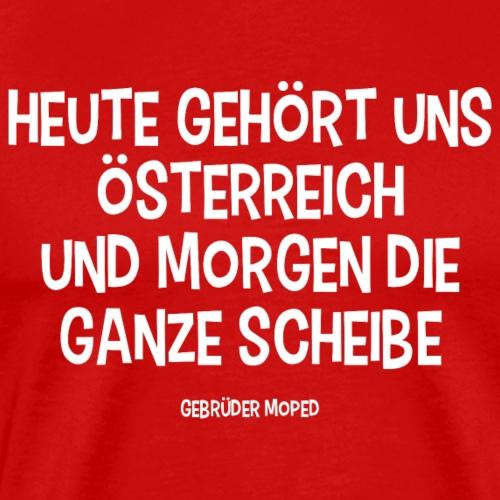 Scheibe Österreich - Männer Premium T-Shirt