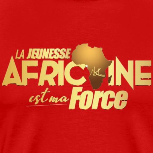 La jeunesse africaine est ma force - T-shirt Premium Homme