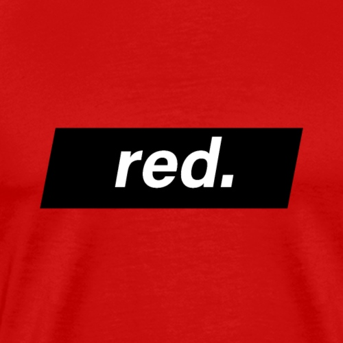 red - T-shirt Premium Homme