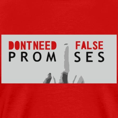 promises - Männer Premium T-Shirt