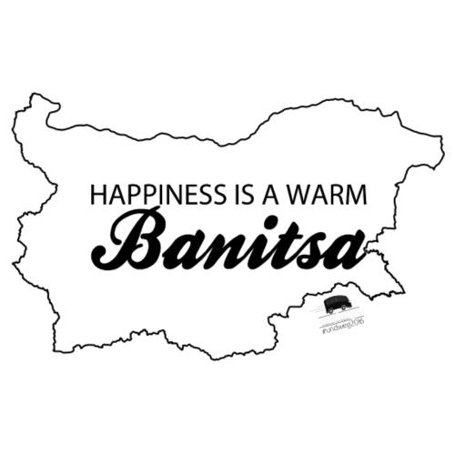 happiness is a warm Banitsa - Männer Premium T-Shirt