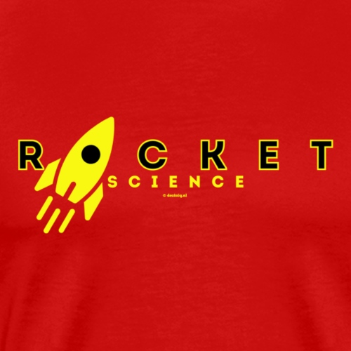 Rocket Science - Mannen Premium T-shirt